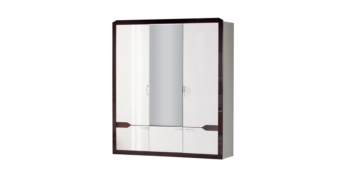 Фото - Шкаф для одежды РОНДА с зеркалом 310 фирсова в 15 минут перед зеркалом